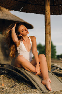 Alison Begue - la plage