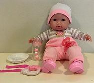 Jeu de faire semblant sur le thème des bébés