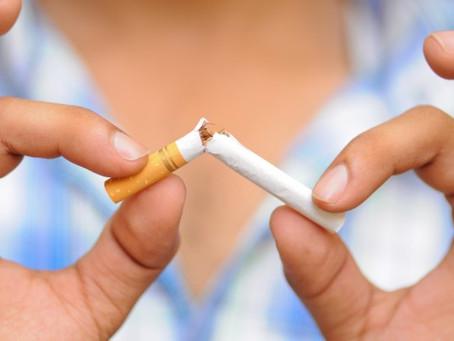 Eu quero parar de fumar, o que devo fazer?