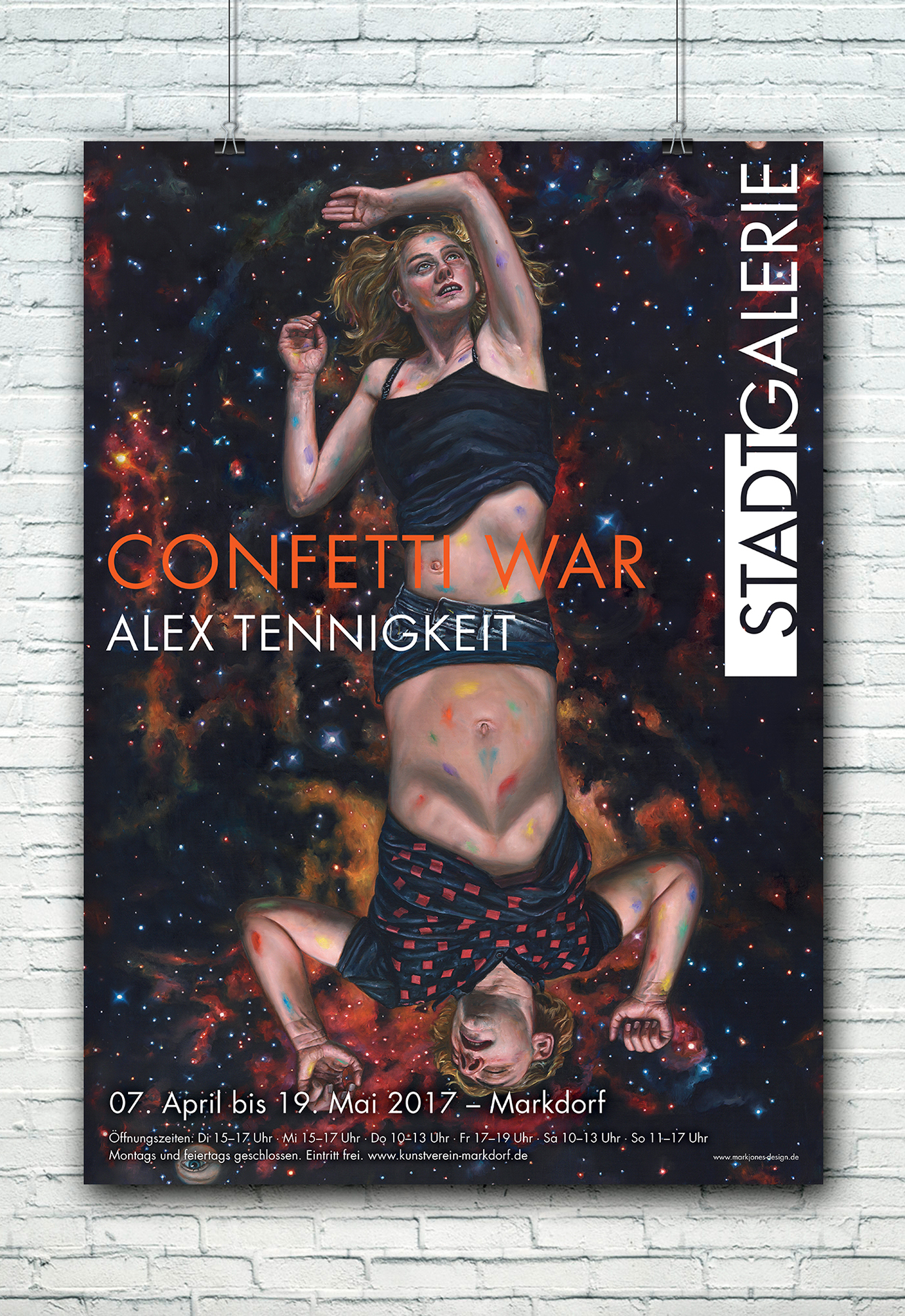 Plakat Alex Tennikeit