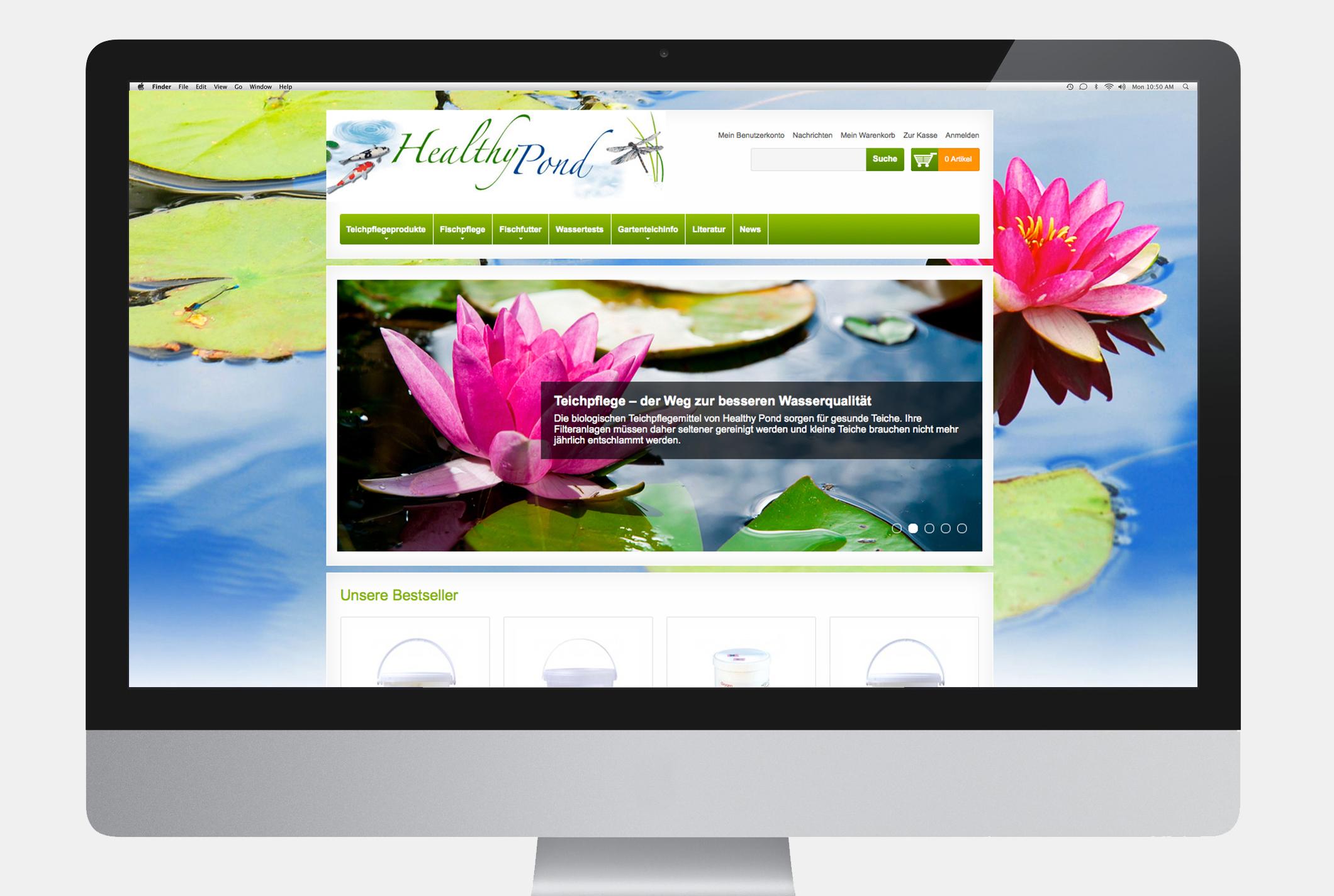 Healthy Pond Webshop