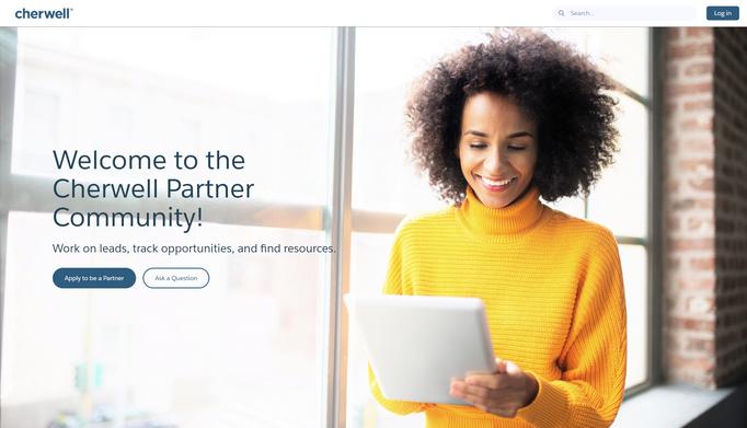 Cherwell Partner Community Homepage