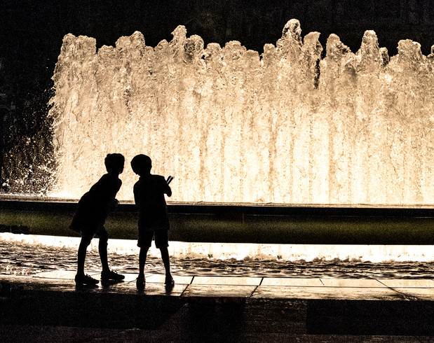 Two Boys - Lincoln Center Fountain-4.jpg
