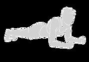 37206781-sportliche-frau-arbeitet-vector
