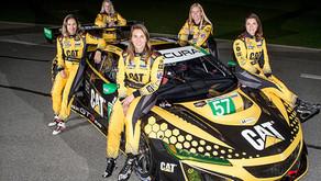 Com presença de brasileira, equipe feminina nas 24 Horas de Daytona faz história