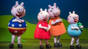 Teatro Frei Caneca recebe a nova aventura de Peppa Pig