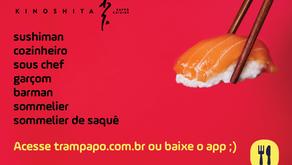 Trampapo inicia processo seletivo com mais de 20 vagas em renomados restaurantes de São Paulo