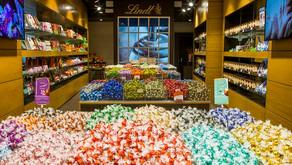 Lindt inaugura sua 30ª loja no Brasil