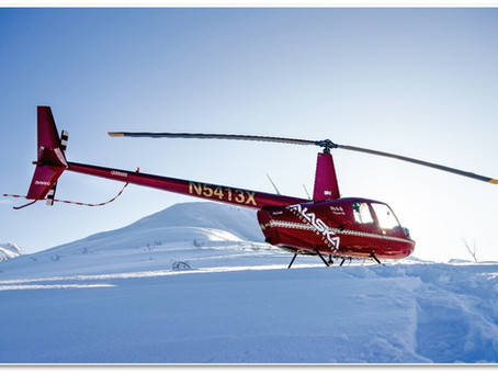 Helicopter & Snowshoe Adventure