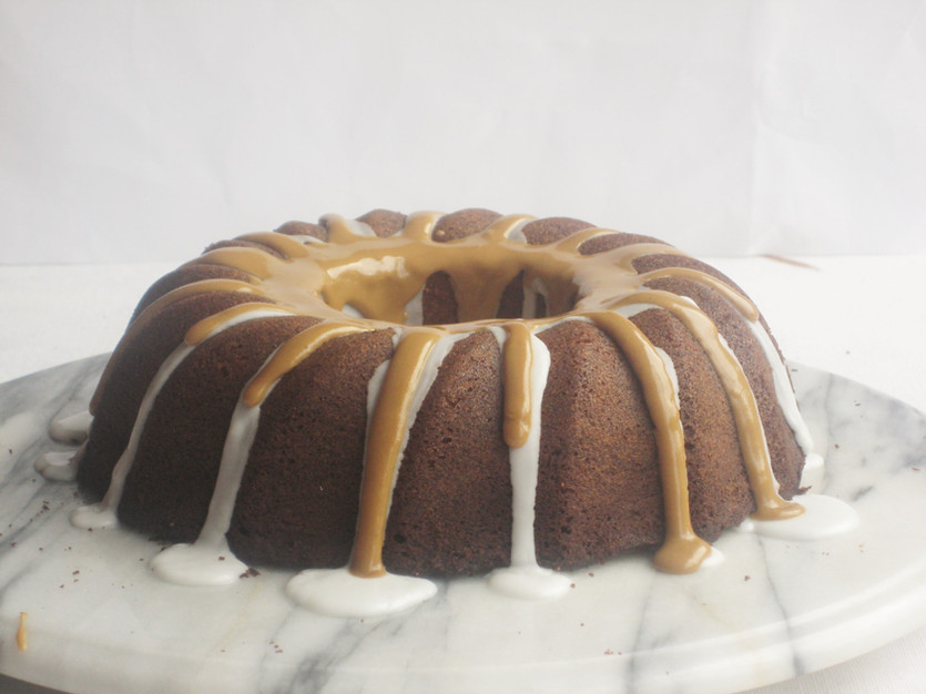 Ginger and Chocolate Bundt Cake