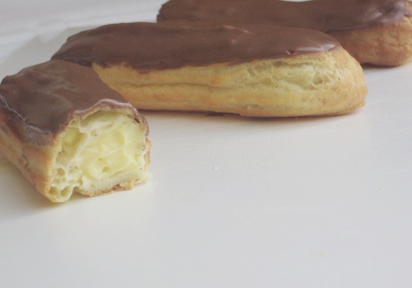 Creme patissiere eclairs