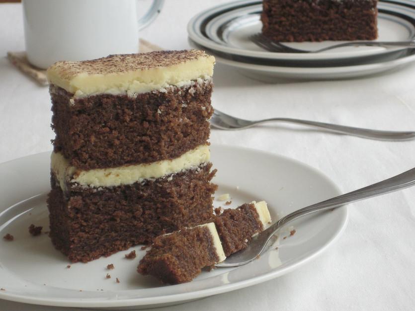 Mocha Cake bars