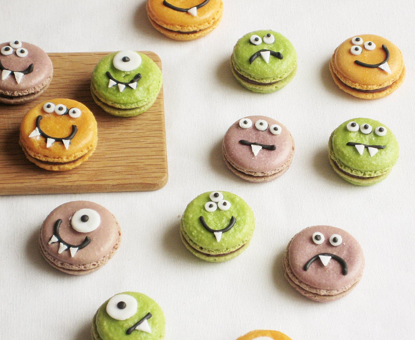 Monster Macarons