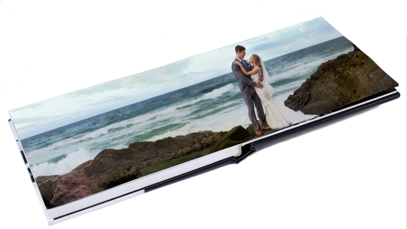 Glass Covered Wedding Albums