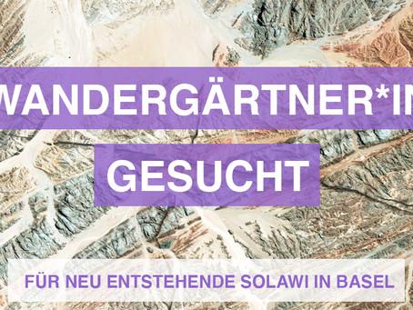 Stellenagebote und Praktikas: von der Schlossgärtnerin zum Solawi-Gärtner