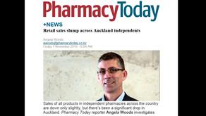 Retail sales in pharmacy