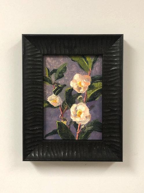 """SOLD Tracie Thompson """"Tea Flowers"""""""