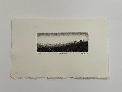 Old Brewery Etching by Stuart Loughridge