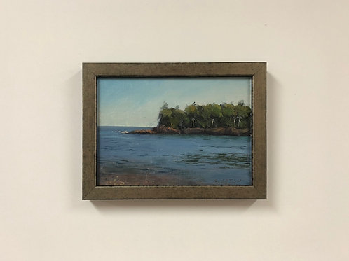 "SOLD Bob Upton ""Quiet Water at the Point"""