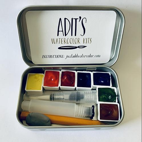 Adit's Watercolor Kits