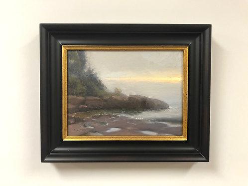 """Bob Upton """"Burning Off the Fog"""" Oil Painting"""