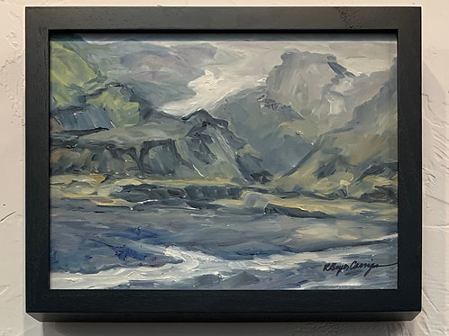 Iceland Landscape #1 by Rita Beyer Corrigan