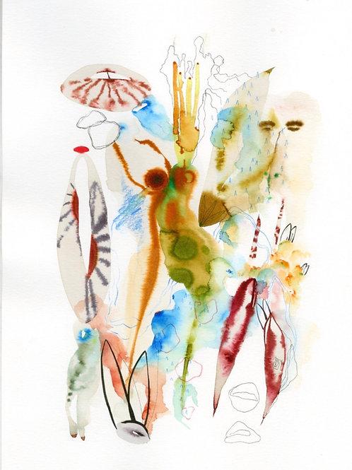 #15 Watercolor by Suyao Tian