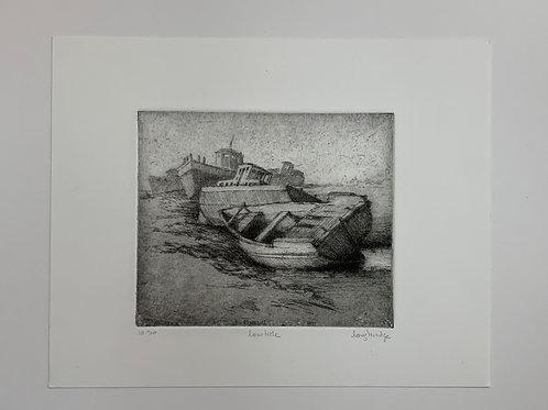 Low Tide Etching by Stuart Loughridge