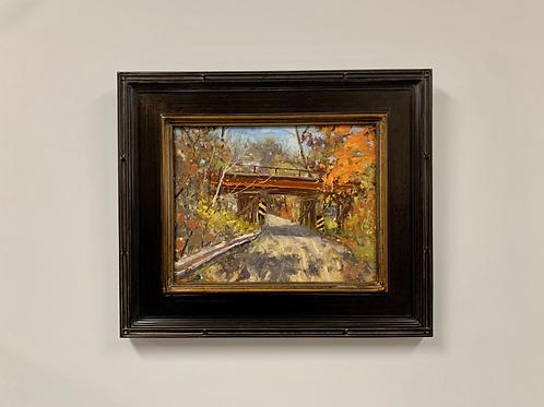 "Tim Kurtz ""The Trestle"" Oil Painting"