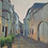 Thumbnail: Beaune at Night Gouache Painting by Taylor Champoux