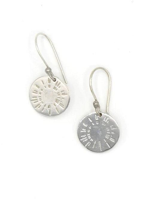 Fair Anita Sterling Silver Burst Earrings
