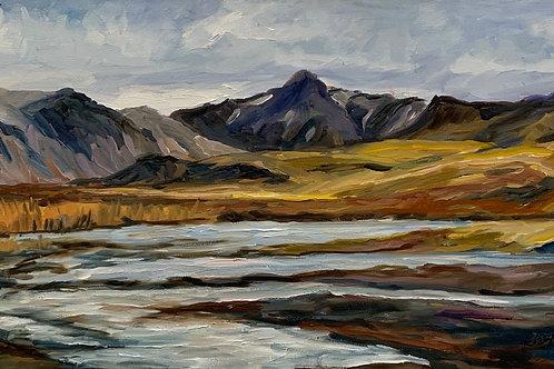Western Iceland by Rita Beyer Corrigan
