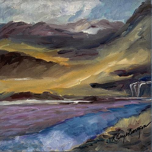 Below the Waterfalls by Rita Beyer Corrigan