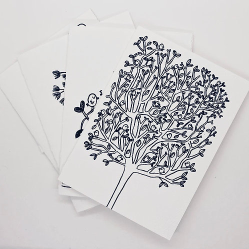 Coloring Greeting Card Packs by Adit