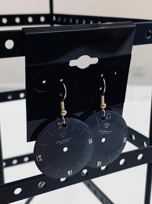 Bitz of Time Watch Face Earrings