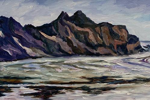 Approaching Skaftafell by Rita Beyer Corrigan