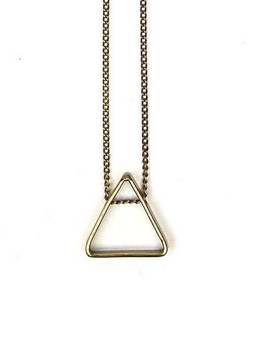 SOLD Fair Anita Pyramid Pendant Necklace