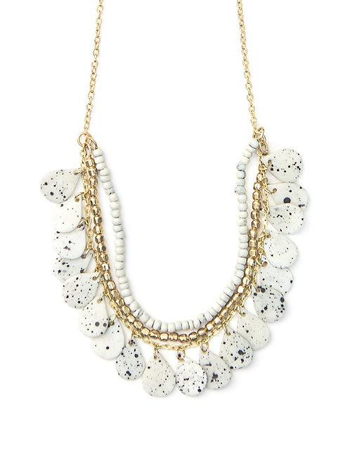 Fair Anita Speckled Bone Necklace