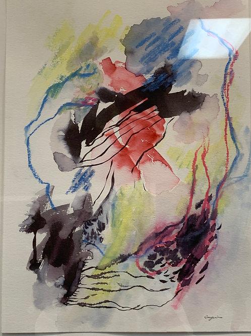 #19 Watercolor by Suyao Tian