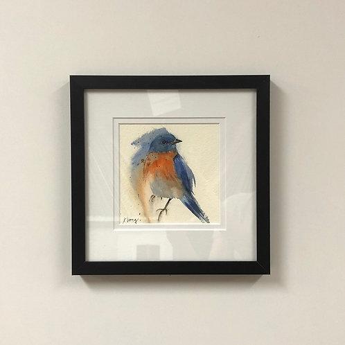 Jeanne Long Watercolor of Bird 1