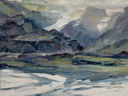 Iceland Landscape #2 by Rita Beyer Corrigan