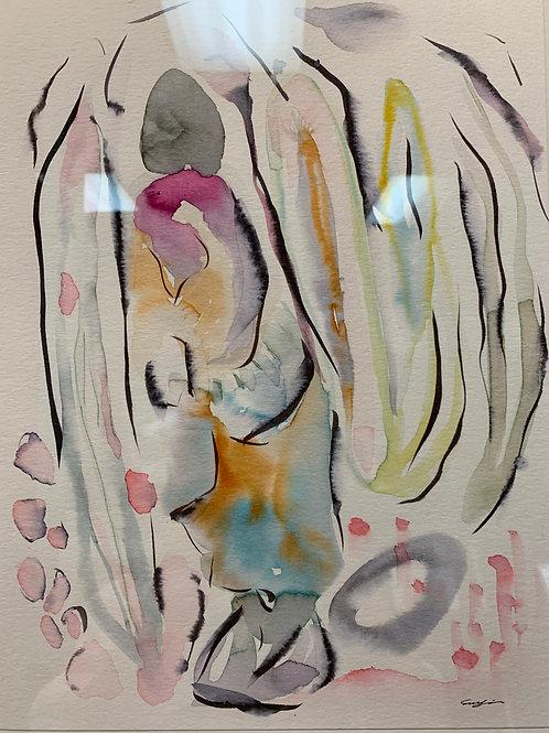 #11 Watercolor by Suyao Tian