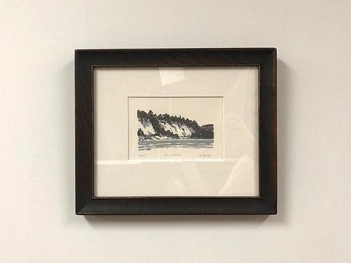 """Stuart Loughridge """"River Bluffs"""" Silkscreen"""