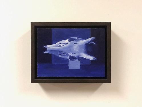 """Anthony Brenny """"Study for Blue Skull"""""""