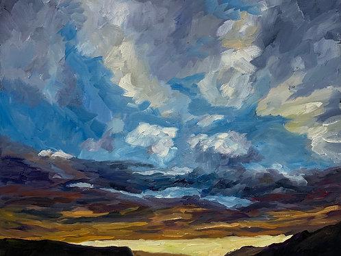 Sunset Snaefellsnes Peninsula #1 by Rita Beyer Corrigan