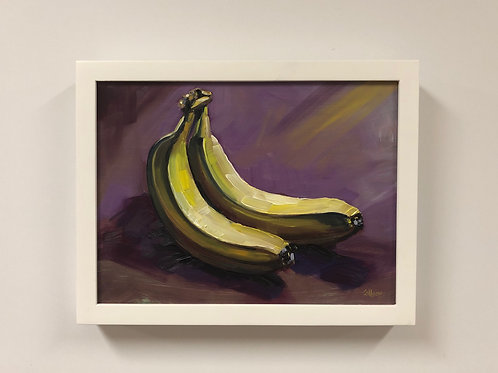 """Colleen Cosgrove """"Bananas"""" Oil Painting"""