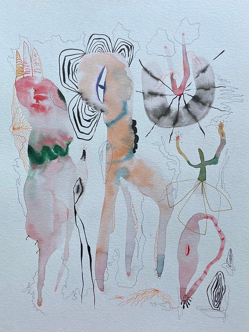 #21 Watercolor by Suyao Tian