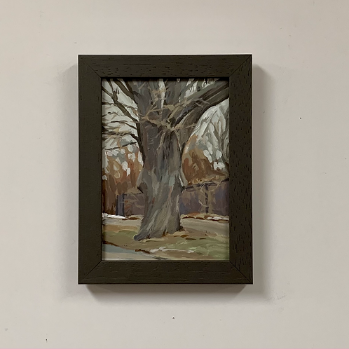 """Carrie Arnold """"Silver Maple on Shepard Road"""" Acrylic Painting"""