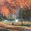 "Thumbnail: SOLD Joshua Cunningham ""Last Fall"" Oil on Linen Painting"