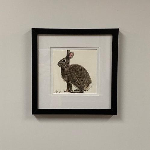 Jeanne Long Watercolor Bunny